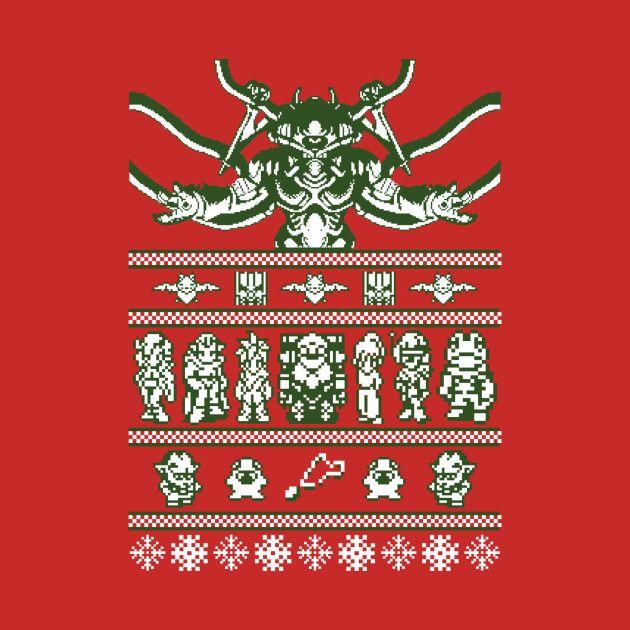 Awesome 'Chrono+Christmas+ugly+sweater' design on TeePublic!