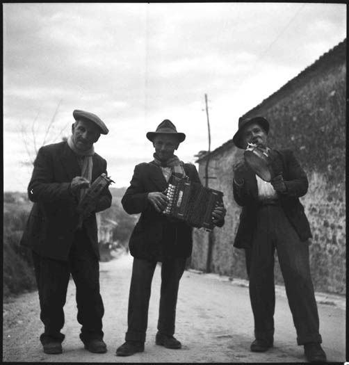 Alan Lomax/Association for Cultural Equity. Montemarano (Avellino province), Campania, January 1955.