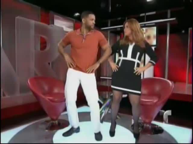 Will Smith Bailando Con Maria Celeste En Al Rojo VIvo #Video