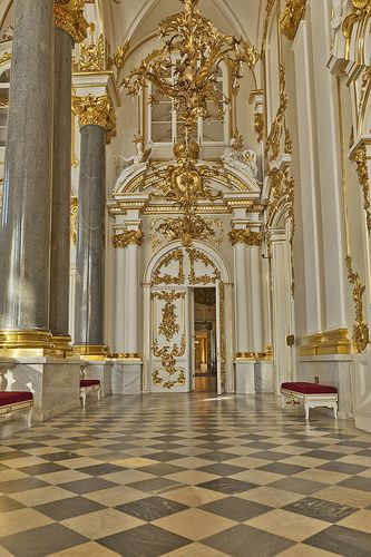 The Hermitage Museum, formerly the Winter Palace, Saint Petersburg, Russia
