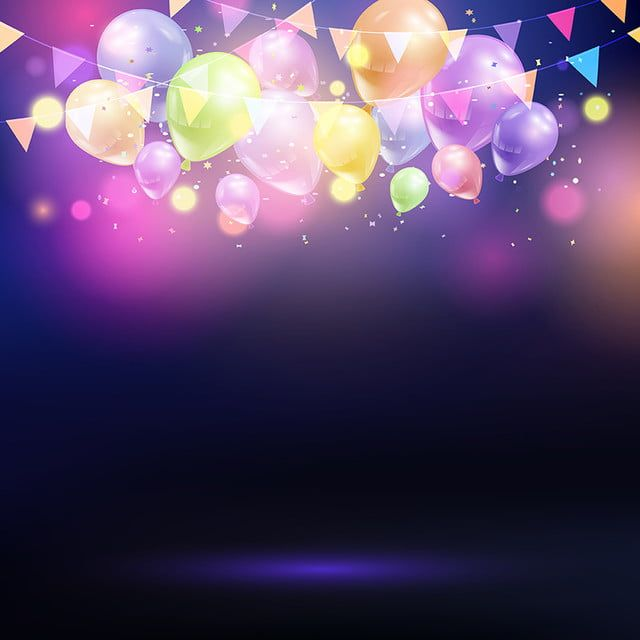 Balloons And Bunting Background 0307 Balloon Clipart Balloon Balloons Png And Vector With Transparent Background For Free Download Celebration Background Birthday Background Balloon Clipart