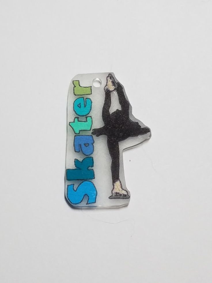 Figure Skater Custom Key Chains – Purposely Designed