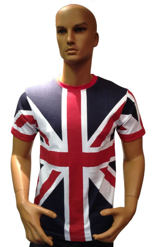 Tour Collection Union Jack Flag T-Shirts London 2014 Team GB Mens Clothing Top in Clothes, Shoes & Accessories, Men's Clothing, T-Shirts | eBay