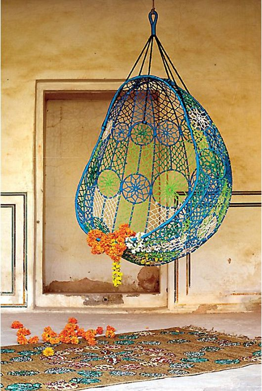 Find This Pin And More On Outdoor  Hanging Chairs By Jeroenmuller.
