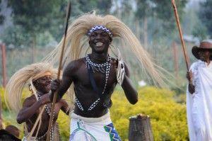 Rwandan Tripes Man