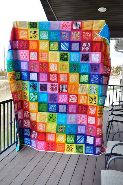my kind of quilt! Mom I love this quilt.Beautiful Quilt