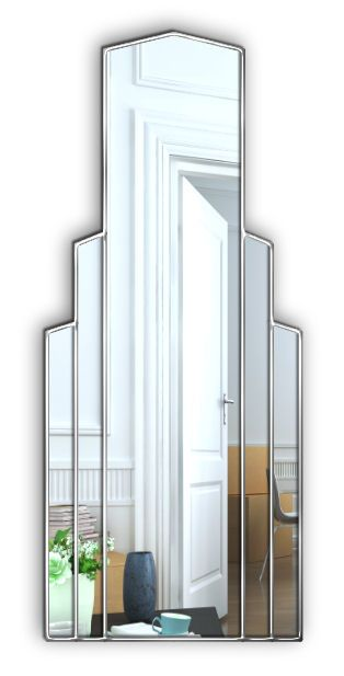 Empire Art Deco Full Length Mirror