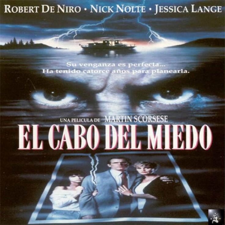 """DVD CINE 198-II - El cabo del miedo (1991) EEUU. Dir: Martin Scorsese. Suspense. Sinopse: un ex-convicto que acaba de saír de prisión tras estar 14 anos encerrado busca vingarse do avogado que lle defendeu durante o xuízo, comezando unha presión psicolóxica cada vez máis intensa e perigosa sobre el e a súa familia. Remake do filme de J. Le Thompson """"El cabo del terror"""", de 1962"""