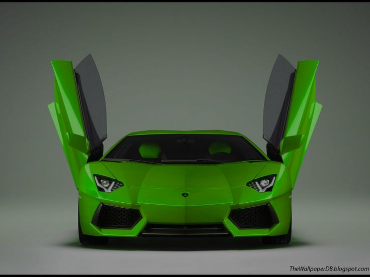 Delightful Lamborghini With Doors | Wallpapers Lime Green Lamborghini Aventador  Edition Lp Doors Open Free .