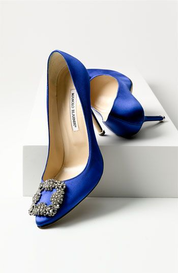 These are the ones I want....if only they didn't cost a fortune....sigh. Manolo Blahnik 'Hangisi' Jeweled Pump