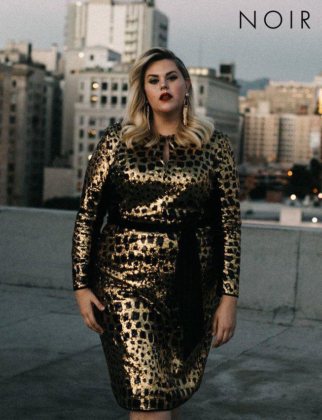 NOIR Belle Taches Dress | Women\'s Plus Size Dresses | MODESTY ABLAZE ...