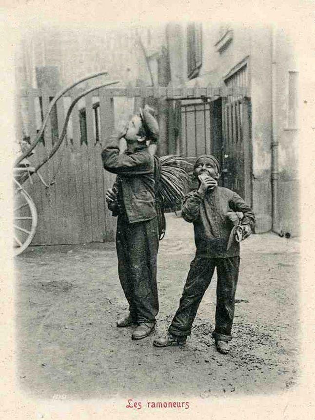 Paris - Ses Métiers Disparus - Le Ramoneur - Années 1900