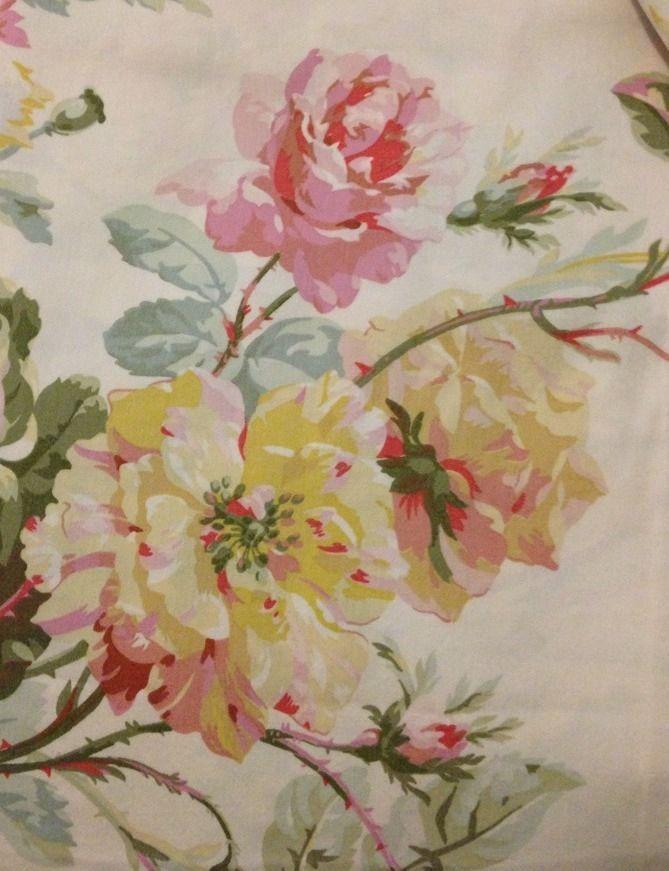 Vintage Ralph Lauren Wentworth King Duvet Cover~ Cotton Sateen~ Gorgeous