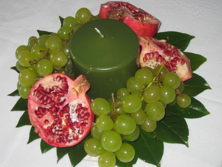 uva e melograno