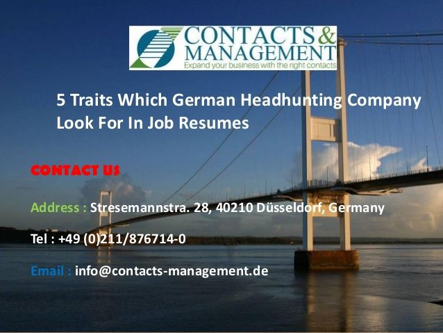 The Qualities Which German Recruitment Agency Glance In Job Resumes  >>>  #GermanRecruitmentAgency #USA