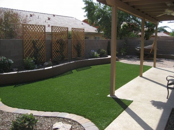 25 best ideas about simple backyard ideas on pinterest for Easy backyard landscaping