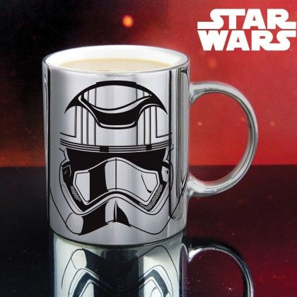 Mug Captain Phasma Chromé Star Wars Ep 7 : Kas Design, Distributeur de Produits Star Wars