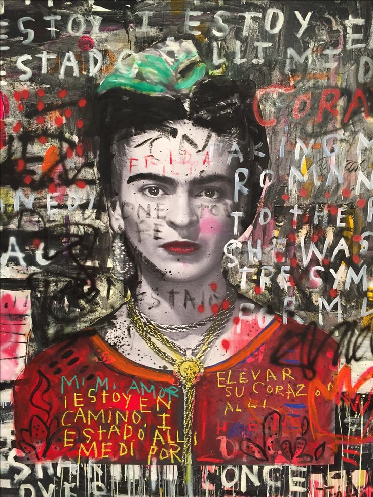 Frida -artist unknown