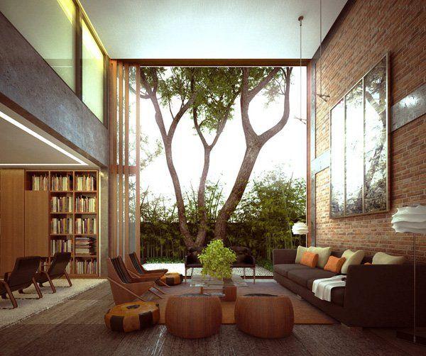 55 brick wall interior design ideas - Home Wall Interior Design