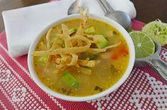 Sopa de Lima Yucateca.