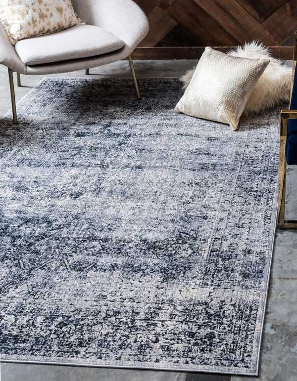 You Ll Love The Abbeville Dark Blue Gray Area Rug At Wayfair Great