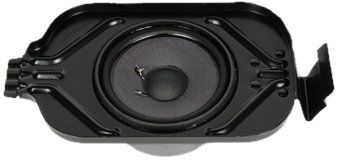 ACDelco 15288247 GM Original Equipment Rear Side Door Radio Speaker. Restore the sound quality of your audio system. GM-recommended replacement part for your GM vehicle's original factory speaker. Offering the quality, reliability, and durability of GM OE. Manufactured to GM OE specification for fit, form, and function.