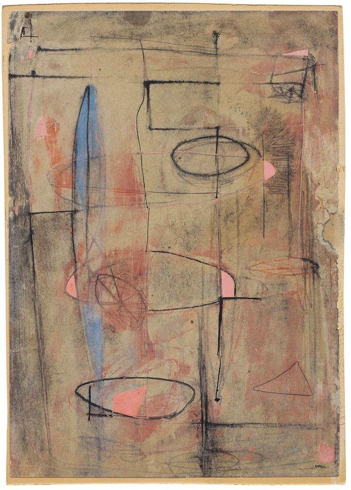 Alberto Burri - Composizione, 1948