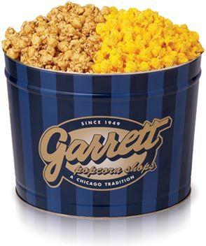 Popcorn van Garrett. Adres: 1 Penn Plaza 242 West 34th Street, tussen 7th en 8th Avenue
