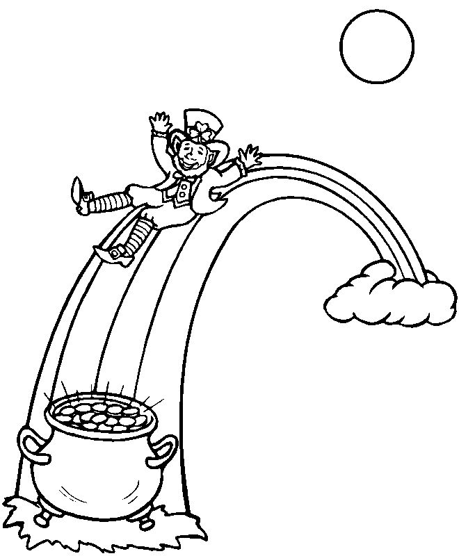112 best St Patricks Coloring Pages images on Pinterest Coloring - best of leprechaun coloring pages online