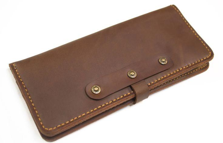 Leather Long Wallet  #longwallet #wallet #menswallet #minimilistwallet #bifoldwallet #loosecoinwallet