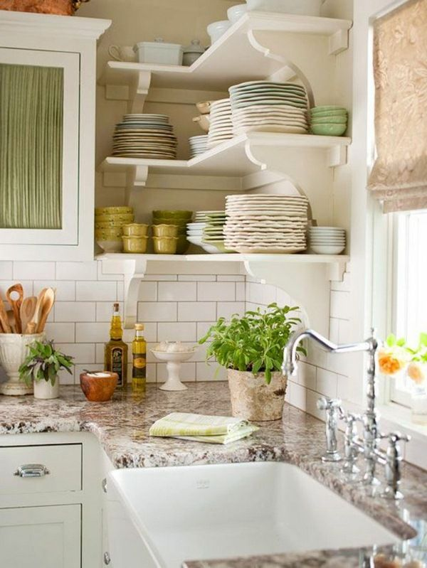 The 25+ best Corner shelves kitchen ideas on Pinterest | Floating ...