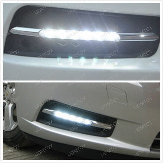 We have got this 2012 Chevy Cruze installed our iJDMTOY exact fit 10W High Power LED DRL for its daytime running lights last week. @ http://ijdmtoy.com/BLOG/wordpress/2013/04/03/2012-chevrolet-cruze-installed-ijdmtoy-high-power-led-drl/