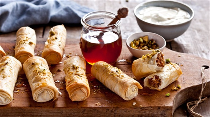 Fruit and nut fingers recipe from Chef Gary Mehigan.