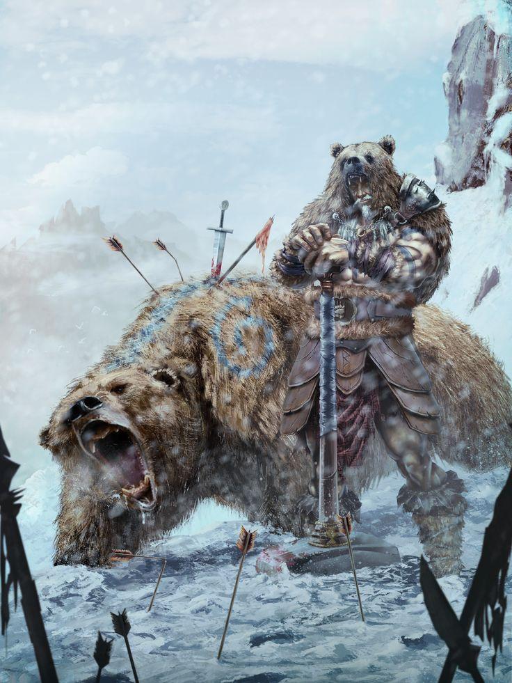 Snow Bear, The Barbarian