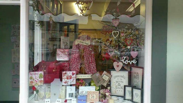 Valentines window!