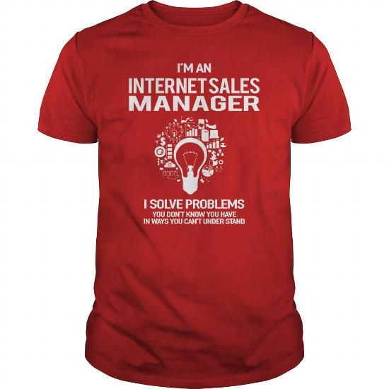 Simple Awesome Tee For Internet Sales Manager