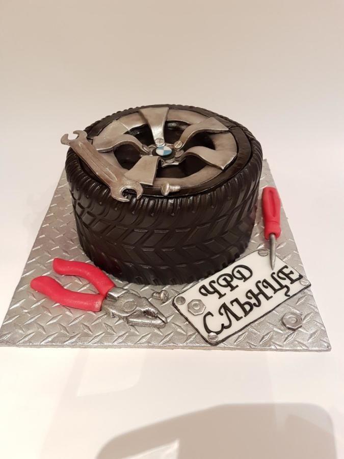 Auto Mechanic cake by nebibe
