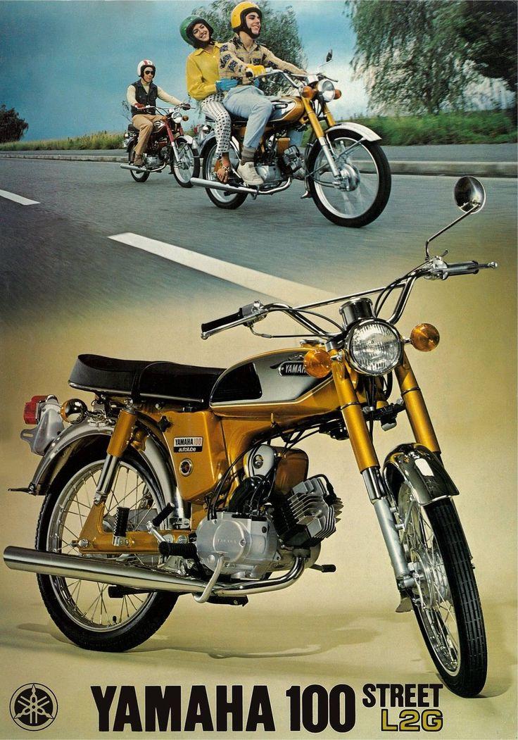 Yamaha Brochure L2G 100 1971 1972 1973 1974 Sales Catalog Catalogue Repro | eBay
