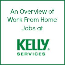 An overview of work from home jobs at Kelly Services