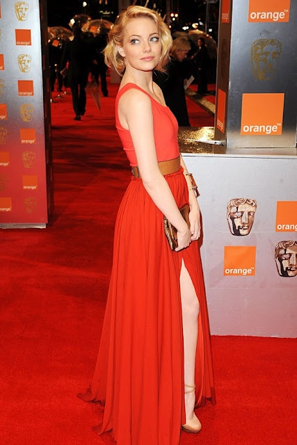Emma Stone in Lanvin. http://smartologie.blogspot.com/2011/02/2011-bafta-red-carpet-photos.htmlAmazing Red, Wear Lanvin, Bafta Awards, Emma Stone, Emma Stones Style, Carpets Dresses, Red Carpets, Fashion Inspiration, Dresses Lists
