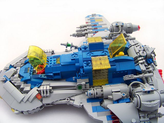 LEGO - Neo Classic - Defender X-21 | Flickr - Photo Sharing!