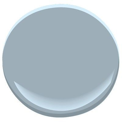 Benjamin Moore Winter Lake-distinctive mid-tone gray has the earthy richness of blue slate, a soothing shade for any room. Part of the Candice Olson designer picks collection: