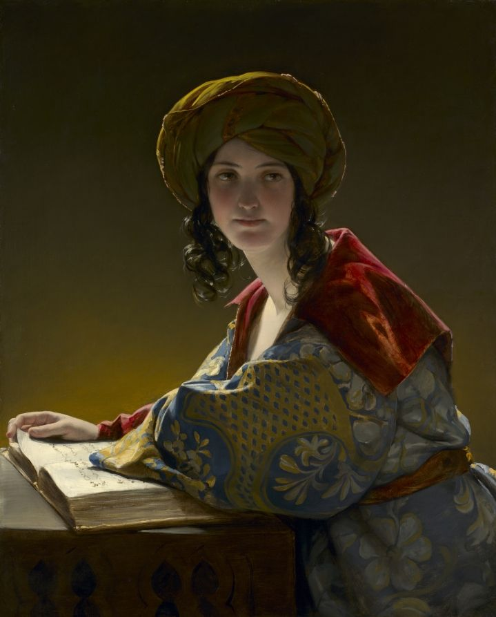 """""""The Young Eastern Woman,"""" 1838; Friedrich Amerling"""