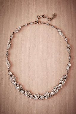 Nerea Crystal Necklace by BHLDN       Perfect Wedding or Bridesmaid Necklace     Follow @KWHBridal