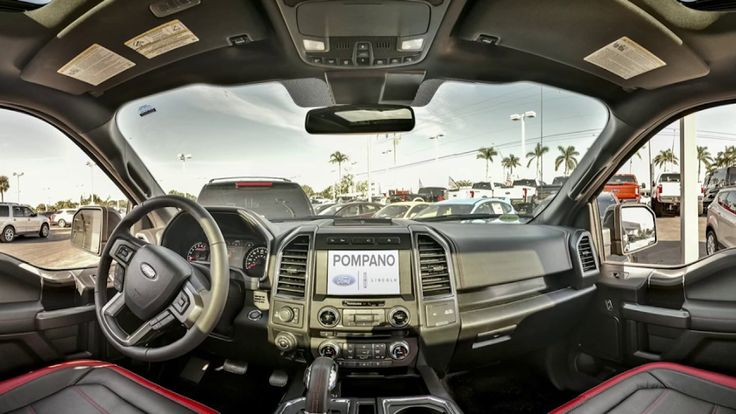2018 Ford F150 Lariat Interior Review in 360 VR by Autohitch.com for Pompano Ford - YouTube