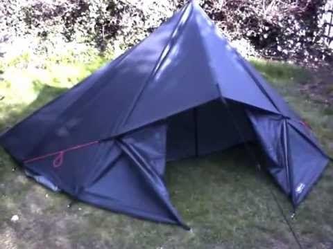 Ultralight DD Tarp Tent with 3m x 3m tarp - YouTube