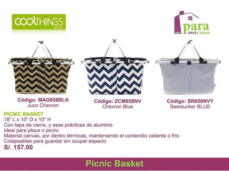 Picnic Basket !!! paramicasaperu@gmail.com