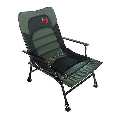 Fishing arm rests #chair folding #camping recliner 4 #adjustable legs xl dark gre,  View more on the LINK: 	http://www.zeppy.io/product/gb/2/121771509131/