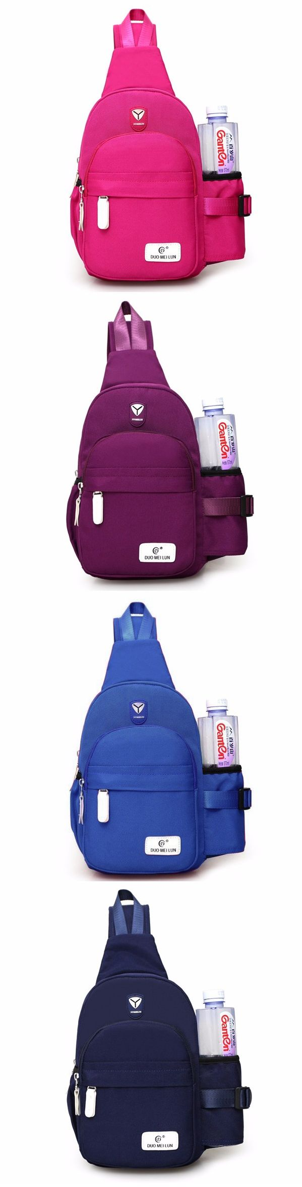 Women Nylon Daily Crossbody Bag Waterproof Durable Chest Bag Shoulder Bag https://twitter.com/gaefaefagaea4/status/895099981215932416