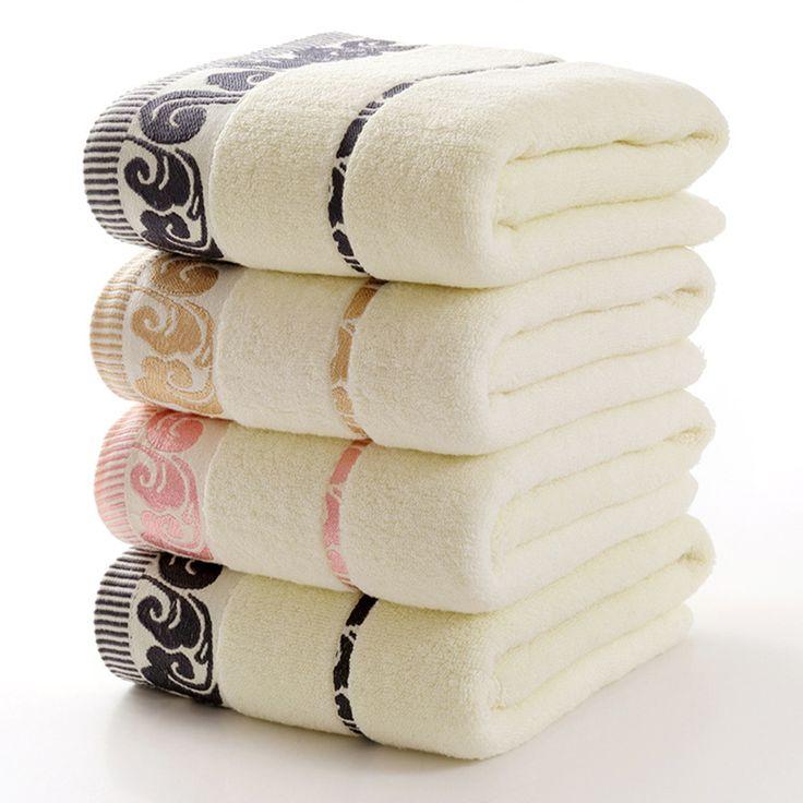 Купить товарНовый роскошный 100% хлопок 70 x 140 см полотенце супер мягкий…